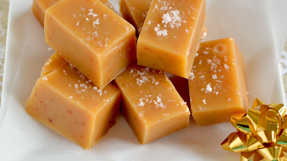 Salted Homemade Caramels