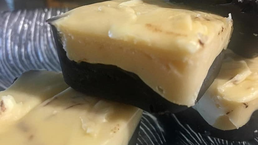 Espresso Caramel Sea Salt Fudge