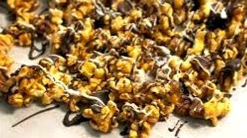 Moose Munch Popcorn with Chocolate Covered Cherries