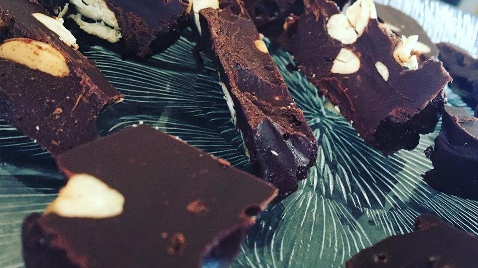 Midnight Daydream Dark Chocolate Keto Fudge