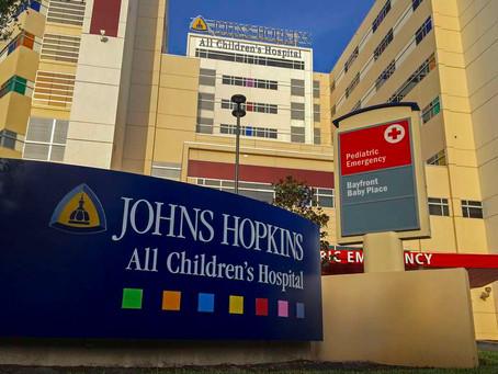 John Hopkins All Children's Hospital in St Pete