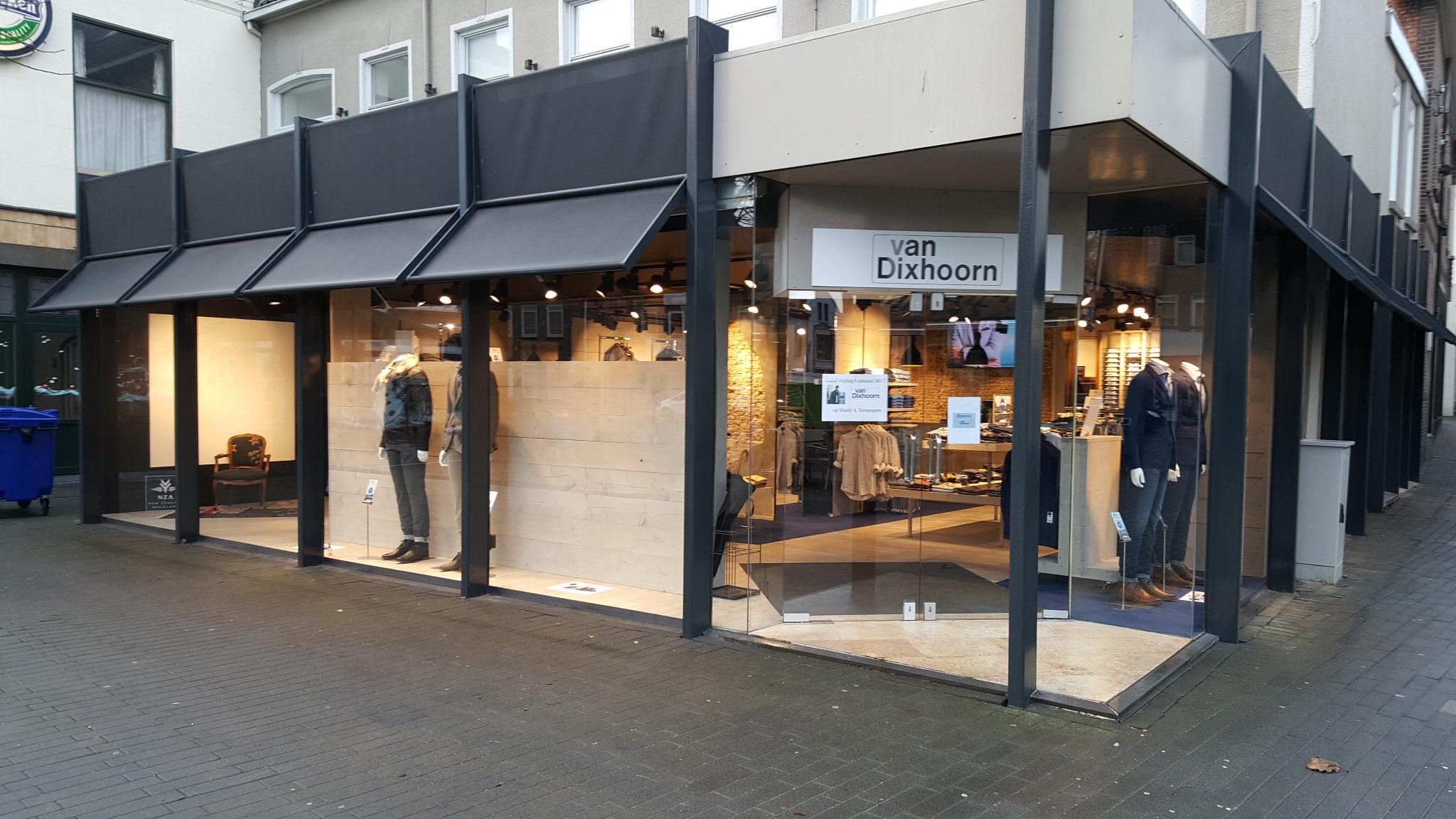 Verbouw Van Dixhoorn Mannenmode