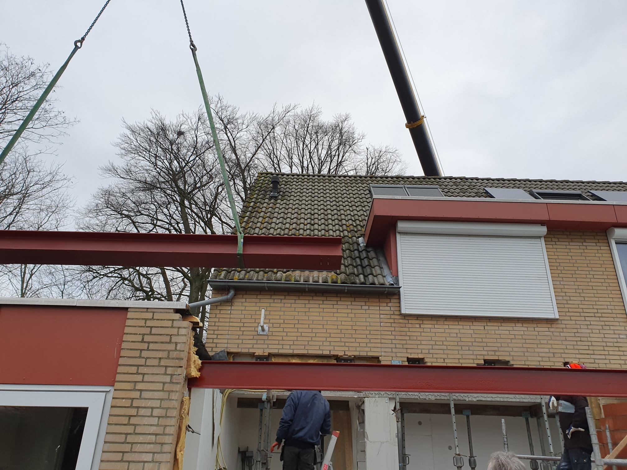 Aanbouw woning Sint Jansteen
