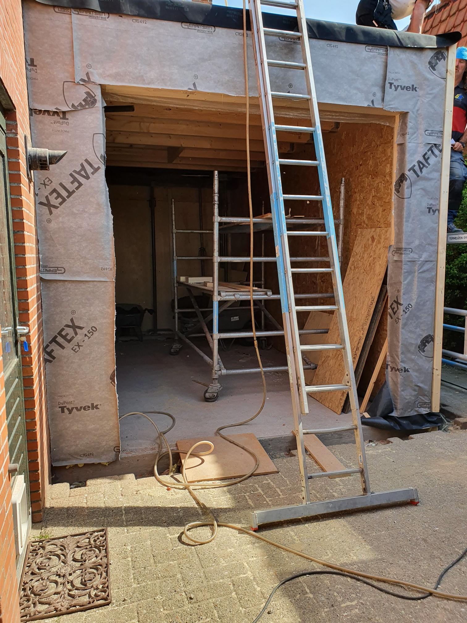 Verbouwing woning Reuzenhoek
