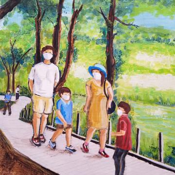 五月連休、石神井公園