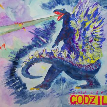 天の守護神ゴジラ