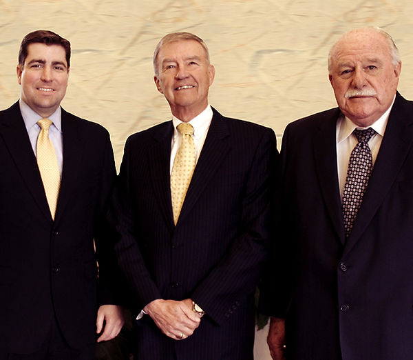 Attorneys J. Anderson Mullins, D. Wayne Moore, and James R. Corbett