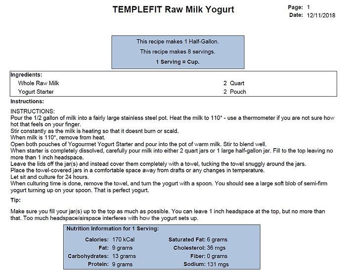 TEMPLEFIT Raw Milk Yogurt Recipe.jpg