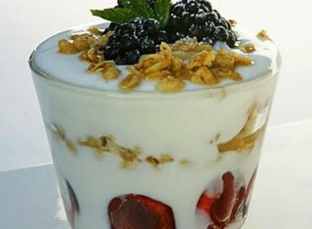 Real Raw Yogurt Parfait