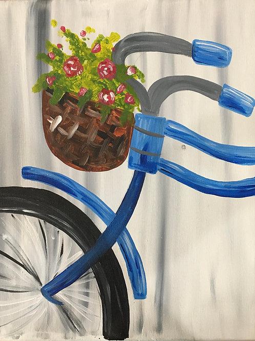 Spring Bike Canvas Kit