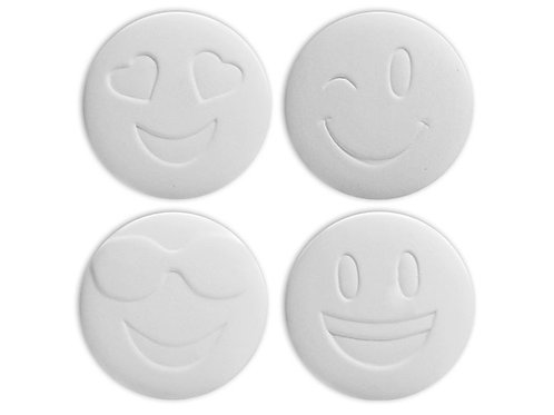 Emoji Coaster Set (4)