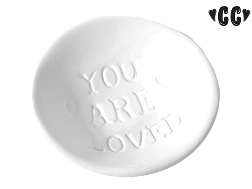 "You Are Loved Dish (3"" Dia)"