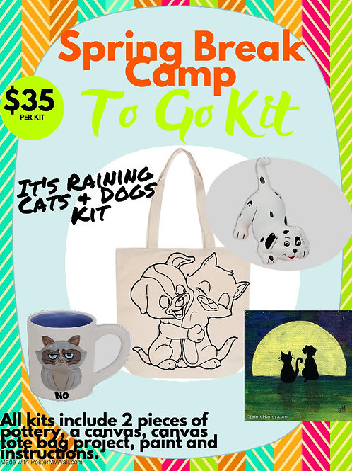 It's Raining Cats & Dogs Camp Kit
