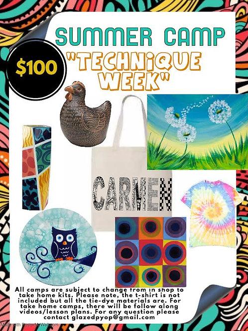 Technique Week (Summer Camp)