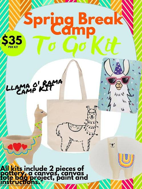 Llama O' Rama Camp Kit