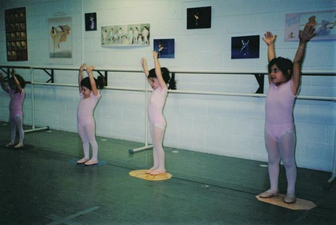 Several Baby Ballerinas For Context