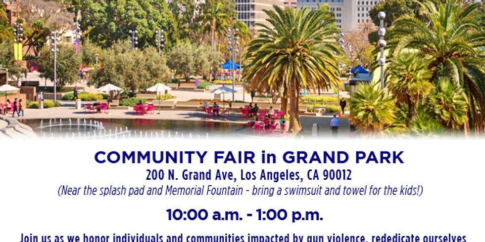 LA Wear Orange Community Fair