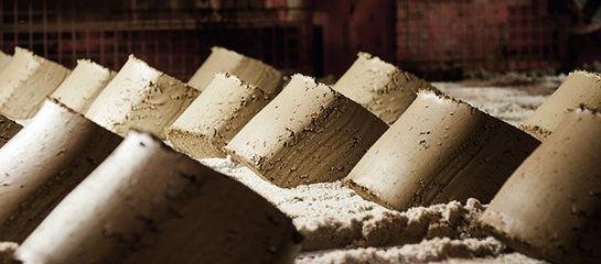 Процесс производства кирпича
