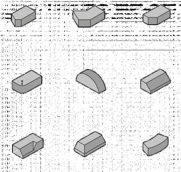 Кирпич ручной формовки - формовые элементы