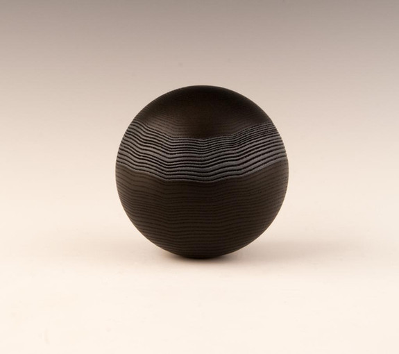 sphère bande sablé BW.jpg