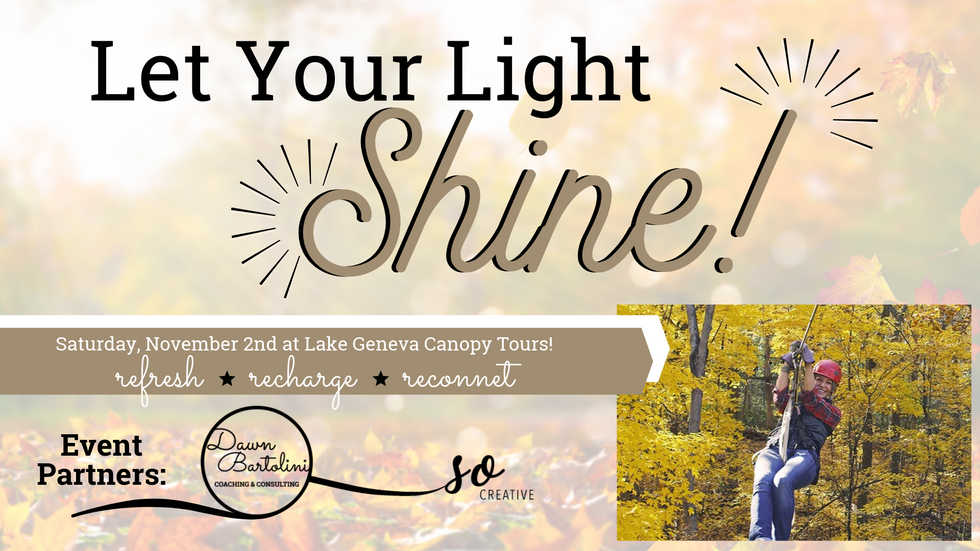 Let Your Light Shine - Woman of Impact Nomination