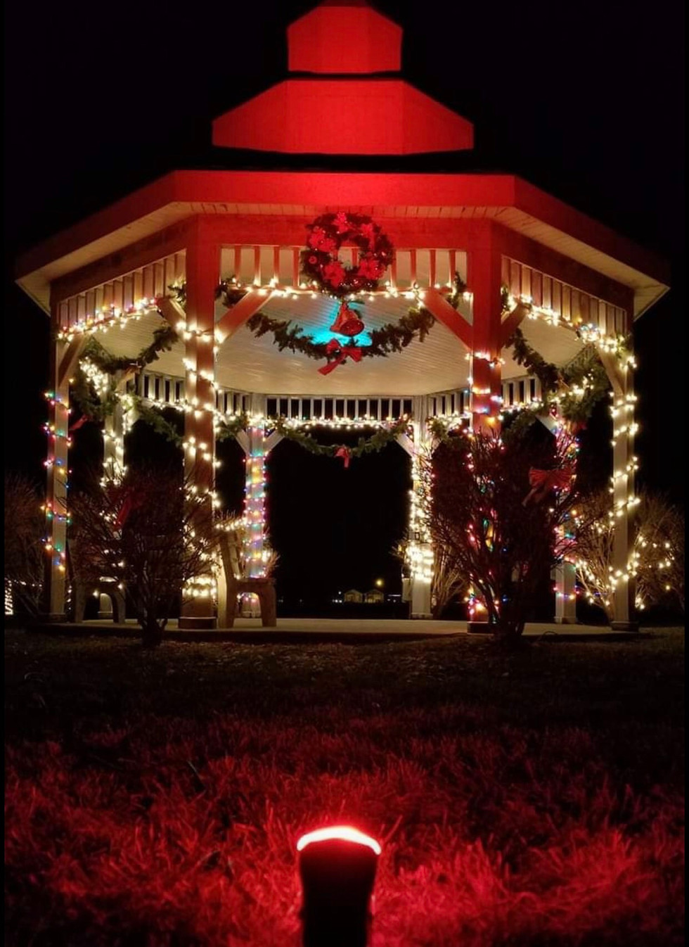 """Home for the Holiday's"" in Hebron, IL"