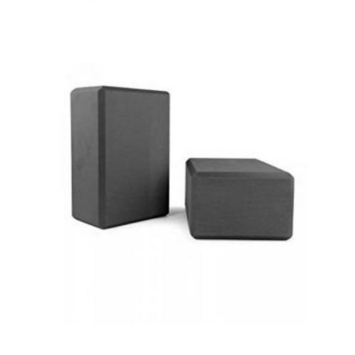 2 Pack Black Yoga Blocks