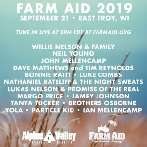 2019 Farm Aid & the McHenry County Farm Stroll