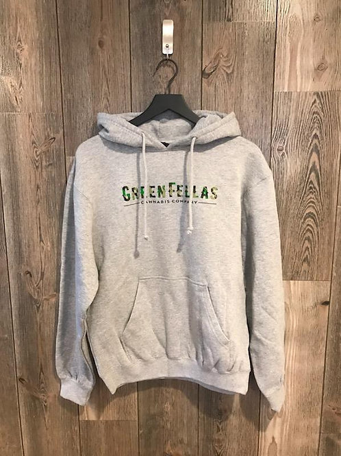 Greenfellas Cannabis Grey Pullover