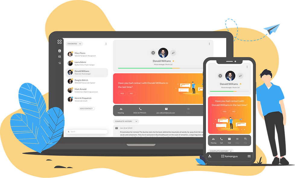 Business Networking & Relationship Management App