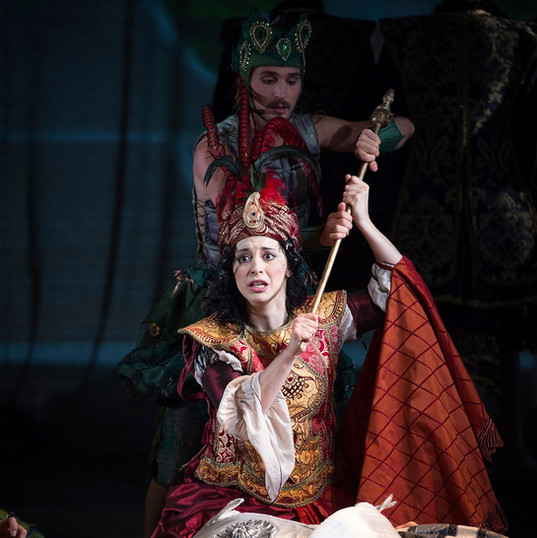 Emilie Renard as Armide in Lully's Armide (Musikfestspiele Potsdam Sanssouci 2016)