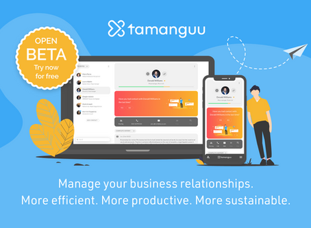 BIG NEWS: tamanguu Open Beta Launch