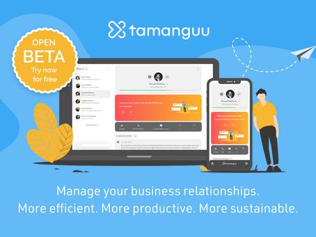 BIG NEWS: tamanguu Open Beta Launch