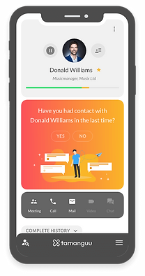 Business Networking & Relationship Management Mobile App by tamanguu