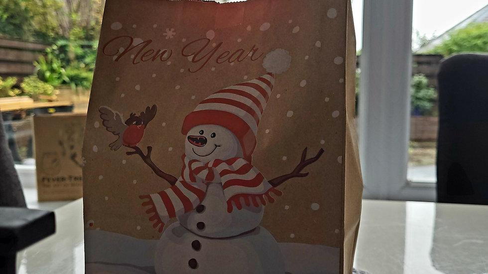 Cheese & Chutney hamper gift bag