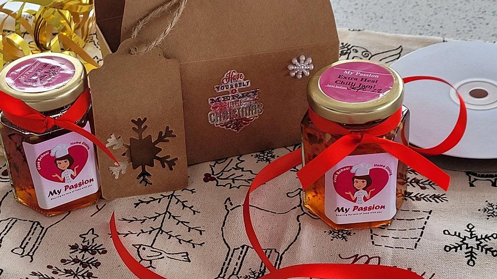 Mini chilli jam duo box set