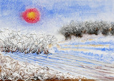 Frosty_hedgerows_collage_mixed_media_3(1