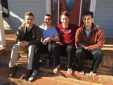 From left: Matt, Macus, Matt, and Drew