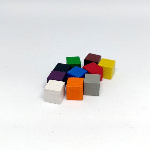 Cubos de Madera 8 mm