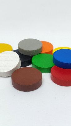 Discos de Madera 15 mm