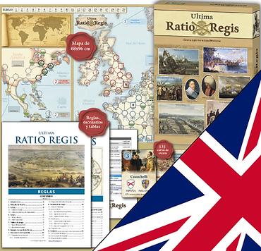 Impresión personalizada Ultima Ratio Regis (ENGLISH)