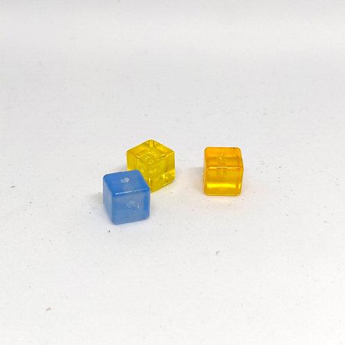 Cubos Semitransparentes 7 mm