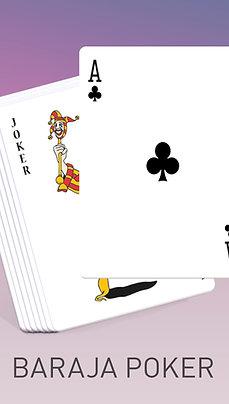 Baraja Póker trasera personalizable