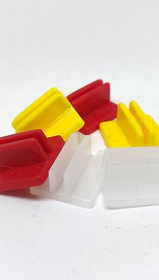 Peanas Plástico para Cartón 20 mm