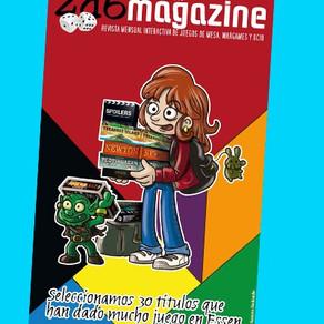 Salimos en la revista 2D6