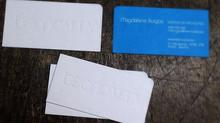 Como hacer un efecto golpe en seco sin tinta en letterpress