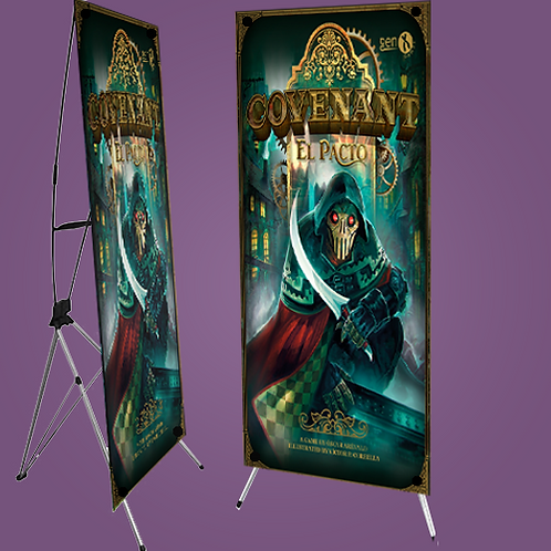 Display tipo X-Banners 70x180