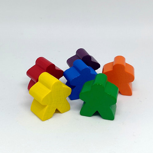 Meeple Tipo Carcassonne 16 mm