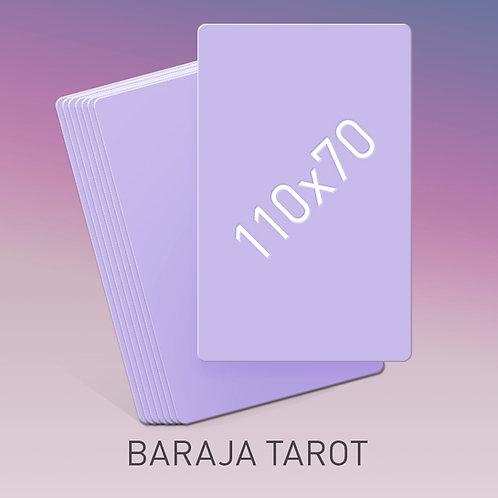 Baraja tamaño Tarot 110x70