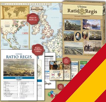 Impresión personalizada Ultima Ratio Regis (ESPAÑOL)